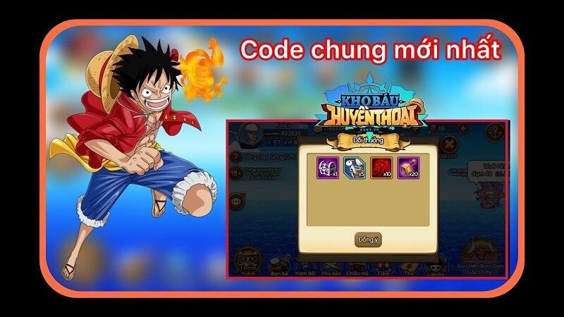 code kho báu huyền thoại