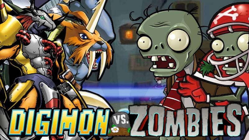 game digimon vs zombie