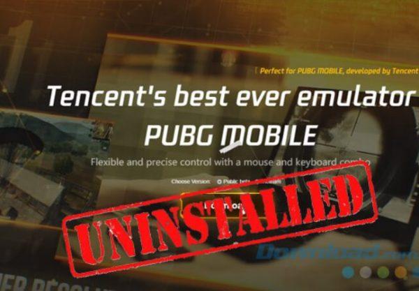 lỗi tencent gaming buddy