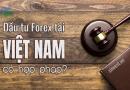 Đầu tư forex có hợp pháp tại thị trường Việt Nam?